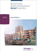 Annual Report 2018 Bouwinvest Retail Fund